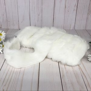 Vintage 3 Yards of Fur Trim Craft Fabric Material